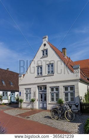Schleswig, Germany - June 25, 2019: Holm Museum In The Old Fishing Quarter Of Schleswig, Germany