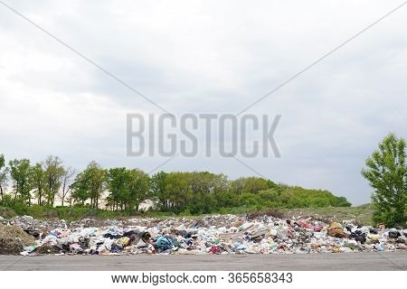 Garbage Pollution From Small Towns Incinerated And Disposed Of Incorrectly A Source Of Pollution And