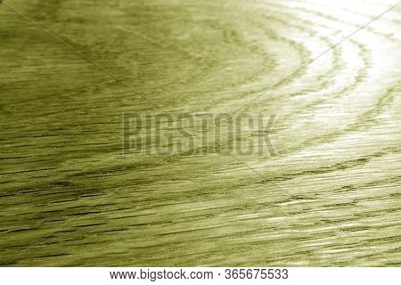 Wooden Board Texture With Blur Effect In Yellow Tone. Abstract Background And Texture For Design.