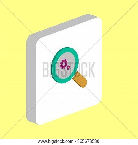 Business Analysis Simple Vector Icon. Illustration Symbol Design Template For Web Mobile Ui Element.