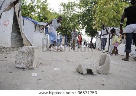 Haiti Earthquake.