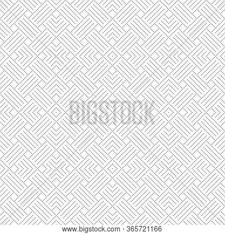 Seamless Pattern. Abstract Small Dotted Textured Background. Modern Stylish Texture. Regularly Repea