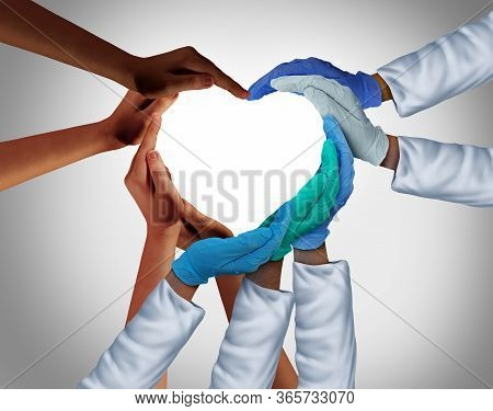 Community And Health Workers And Essential Care Medical Group Or Hospital Medicine Teamwork As A Gro