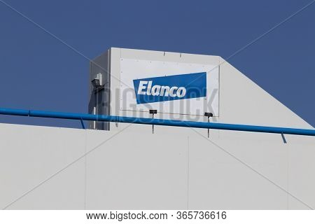 Terre Haute - Circa May 2020: Elanco Animal Health Location. Elanco Agreed To Buy Bayers Veterinary