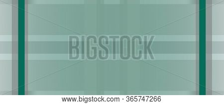 Abstract Green Background With Copy Space. Geometric Pattern. Transparent Criss-cross Strips. Modern