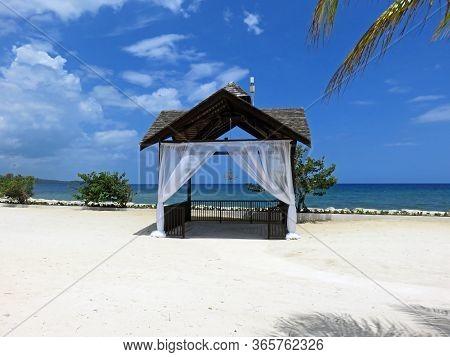 Beautiful Outside Wedding Chapel Montego Bay Jamaica Beach