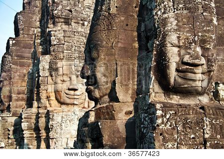Image of the temple complex of Angkor Wat - Cambodia
