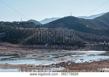 View From Songzanlin Temple Or The Ganden Sumtseling Monastery Also Known As Little Potala Palace In