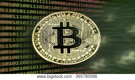 Digital Currency, Bitcoin, Decentralized Cryptocurrency, Electronic Money For Point-to-point Transac