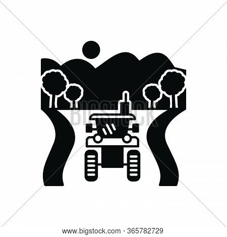 Black Solid Icon For Agriculture Farming Plantation Husbandry