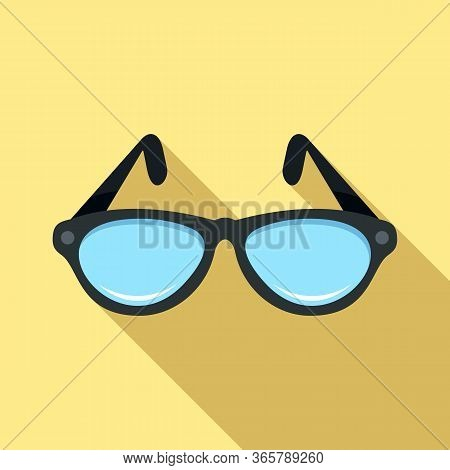 Examination Eyeglasses Icon. Flat Illustration Of Examination Eyeglasses Vector Icon For Web Design