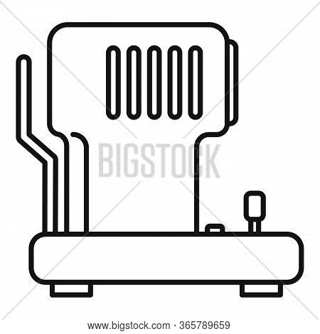 Eye Examination Equipment Icon. Outline Eye Examination Equipment Vector Icon For Web Design Isolate