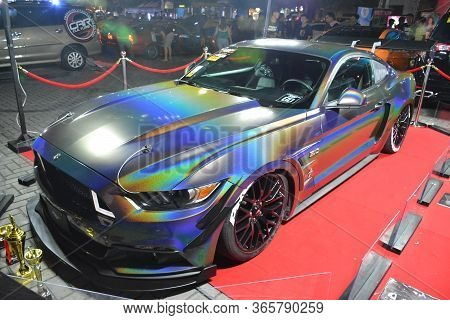 Pasay, Ph - Dec 8 - Ford Mustang At Bumper To Bumper Car Show On December 8, 2018 In Pasay, Philippi