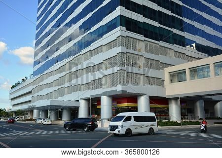 Pasay, Ph - Dec. 8 - One Ecom Center Building Facade On December 8, 2018 In Pasay, Philippines. One