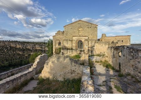 Church Of San Frutos Near Sepulveda (spain)