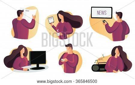 Read News, Watch News Home, Listen To News. Watch Tv, Listen To Music, Read A Newspaper. Reading, Wa