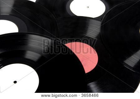 Background Of Vinyl Records