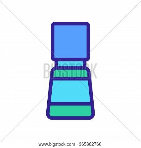 Lubricant In Capacity Icon Vector Outline Illustration