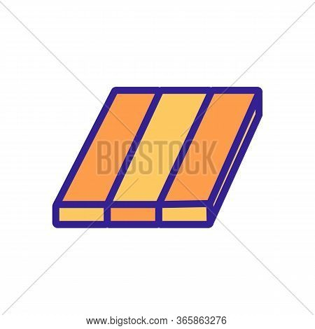 Tile Overlay Icon Vector. Tile Overlay Sign. Color Symbol Illustration