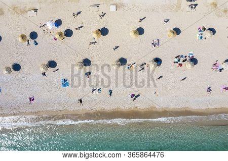 The New Beach Of Glyfada, Athens Greece