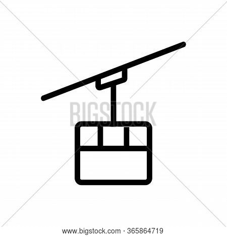 Communication Receiver Icon Vector. Communication Receiver Sign. Isolated Contour Symbol Illustratio