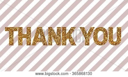 Thank You Text Word Thanks Presentation Greetings
