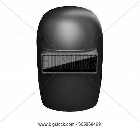 Welding Mask Isolated On White Background 3d Render