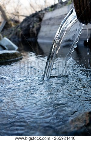 Natural Source Of Clean Water. The Purest Tasty And Healthy Water.