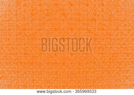 Orange Color Crystal Glittering Texture Background. Glittery Shiny Lights