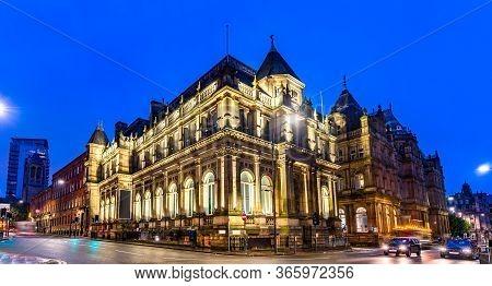Historic Building In Leeds - West Yorkshire, England