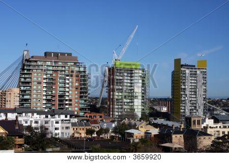Sydney Buildings Under Construction