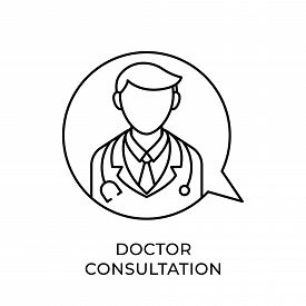 Doctor. Doctor icon. Doctors vector. Doctor icon vector. Doctor illustration. Doctor logo template. Doctor Consultation icon design. Medical Doctor icon vector. Doctor vector icon flat design for web icons, logo, sign, symbol, app, UI.