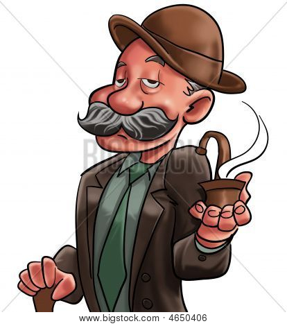 The Old Man And Pipe