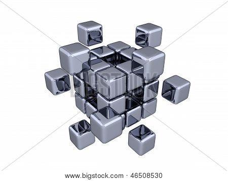 3D Cubes - Elements