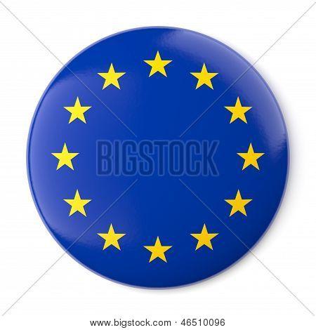 Europe Pin-back