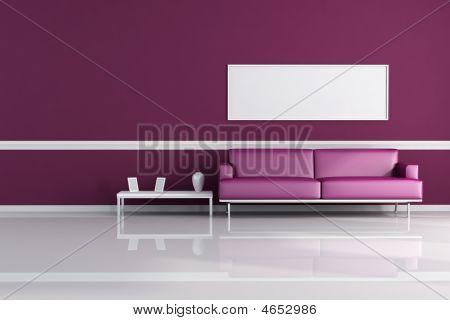 Salotto viola