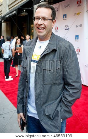NEW YORK-MAY 30: Subway personality Jared Fogle attends the 5th annual Tuck's Celebrity Billiards Tournament at Slate NYC on May 30, 2013 in New York City.