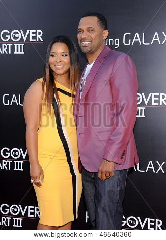 LOS ANGELES - MAY 20:  Mike Epps and Mechelle McCain arrives to the