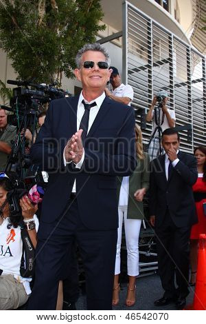 LOS ANGELES - MAY 31:  David Foster at the David Foster Hollywood Walk of Fame Star Ceremony at the Capital Records Building on May 31, 2013 in Los Angeles, CA
