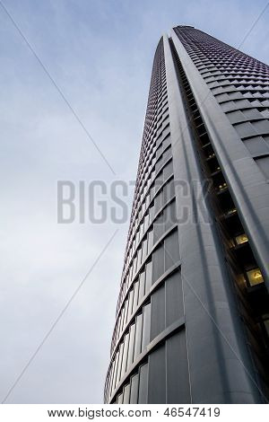 Cuatro Torres Business Area (ctba) Building Skyscraper, In Madrid, Spain