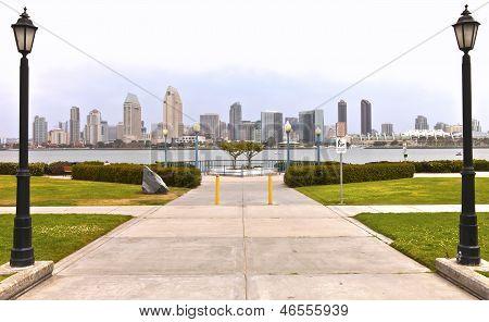 San Diego Skyline California.