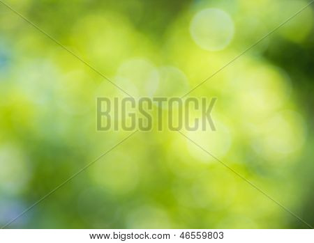 Blur Lights , Defocused Background  Green, Blue.