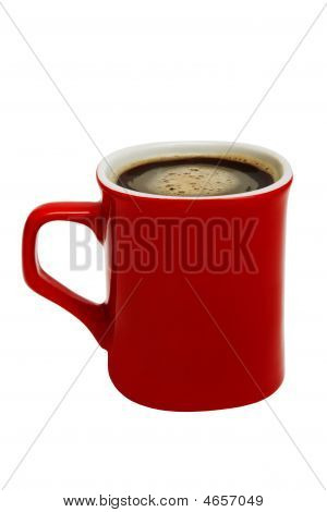 Red Mug From Coffee