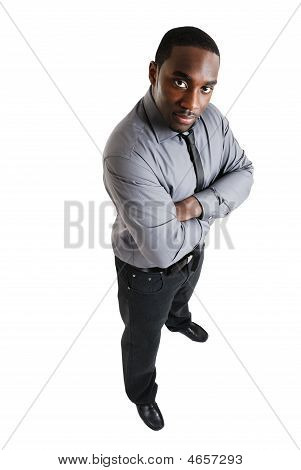 Business Man With Folded Hands