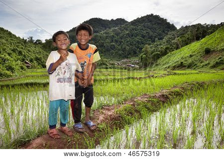 Peasant Laos