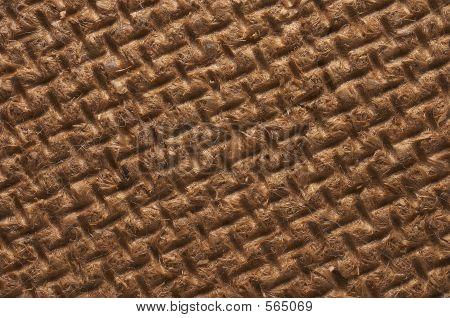 Fiberboard Closeup