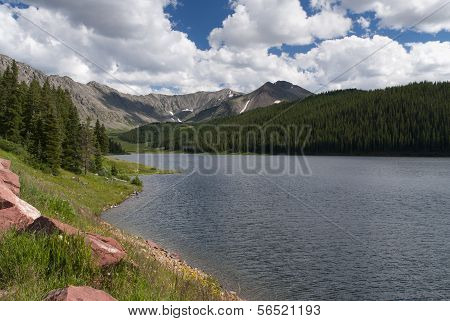 colorado lake panorama