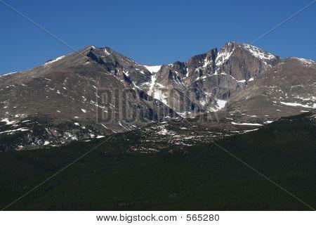 Mt. Meeker And Longs Peak