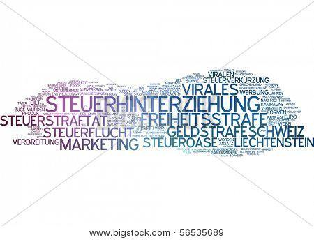 Word cloud -  viral marketing