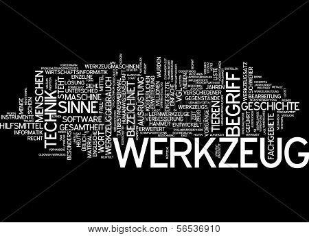 Word cloud -  tool